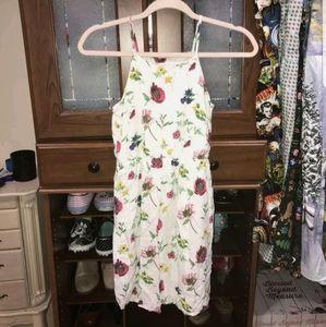 girls floral sundress old navy size XL